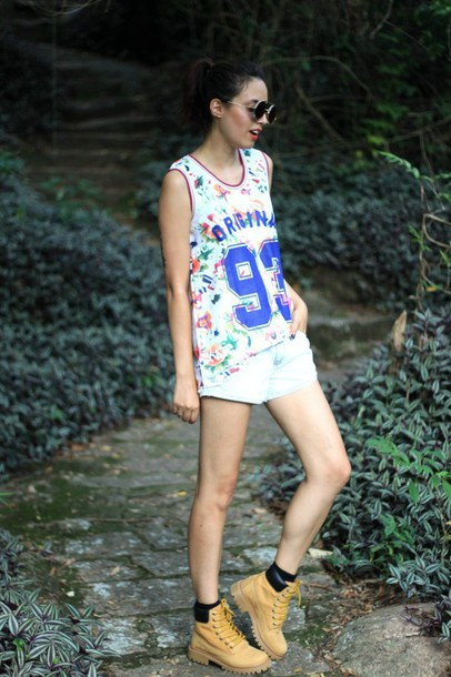 my name is glenn blogger shorts sunglasses jersey timberland
