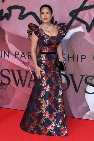 dress gown salma hayek