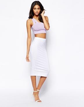 ASOS | ASOS Midi Pencil Skirt In Jersey at ASOS