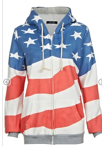 sweater american flag america us stars and stripes usa stars stripes hoodie