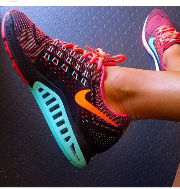 shoes nike colour runners