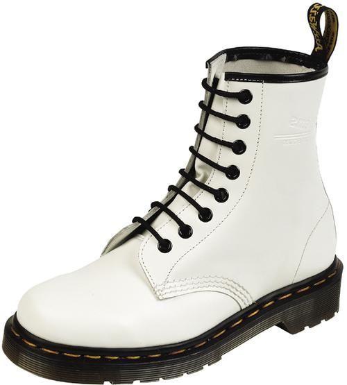 New Dr Doc Martens Womens White 1460 Boots 8i Size UK 4 US 6 R11821100 | eBay