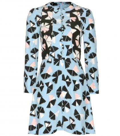 mytheresa.com -  Pinwheel Flower printed silk dress - Short - Dresses - Clothing - Luxury Fashion for Women / Designer clothing, shoes, bags