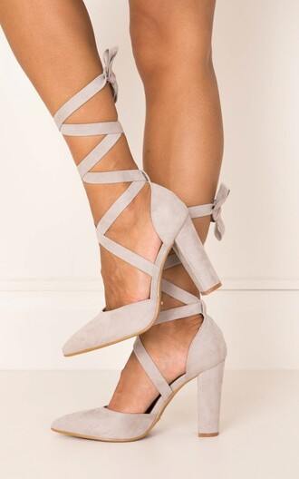 shoes high heels heels ankle strap heels lace up heels lace-up shoes