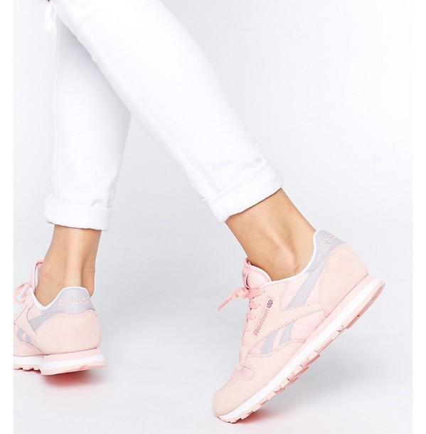 shoes Reebok reebok classic reebok classics nike shoes pastel sneakers