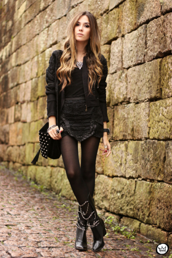 fashion coolture jacket skirt bag jewels shoes