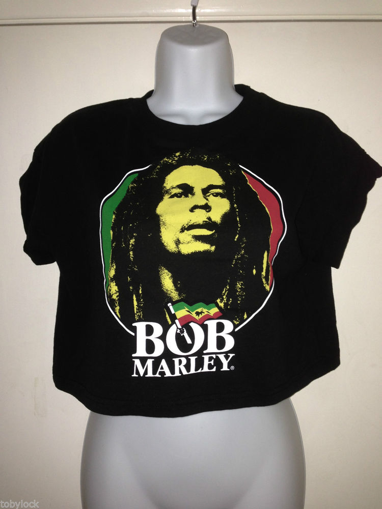 PRIMARK LICENSED BOB MARLEY BLACK VEST CROP TOP T SHIRT TOP 6-20 FESTIVAL BNWT | eBay