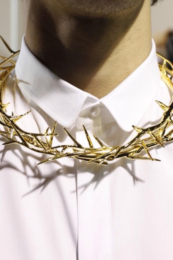 jewels crucifixies jesus crown jesus necklace