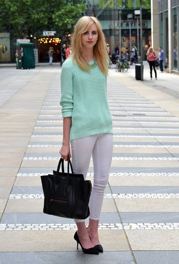 vogue haus sweater pants shoes bag jewels