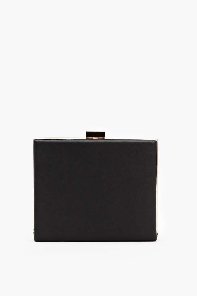 Shadowbox Clutch in  Accessories at Nasty Gal