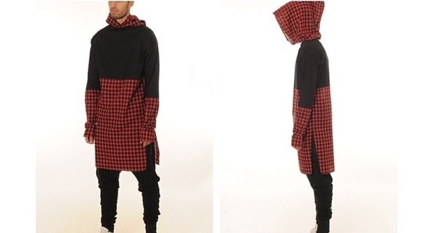 sweater hood hood by air pyrex kanye west style dxpe dope street