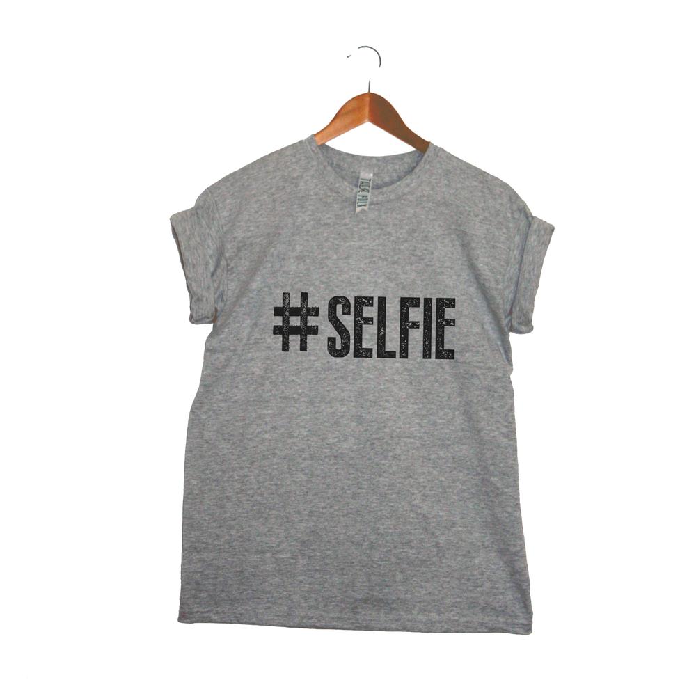 'Hashtag Selfie' Tee / These Folk