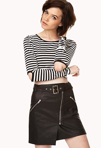Shore Thing Crop Top | FOREVER21 - 2000066497