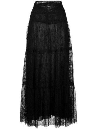 skirt maxi skirt maxi women lace black