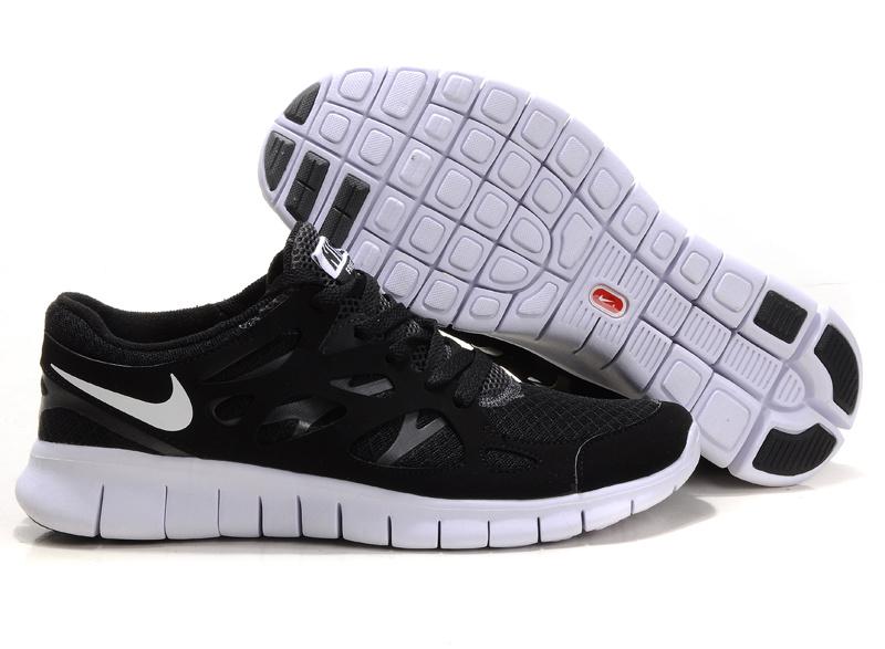 2013 Mens Nike Free Run 2 Black White Anthracite