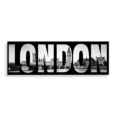 London Wall Art - BedBathandBeyond.com