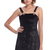 ROMWE | ROMWE Black Velvet Camisole Dress, The Latest Street Fashion