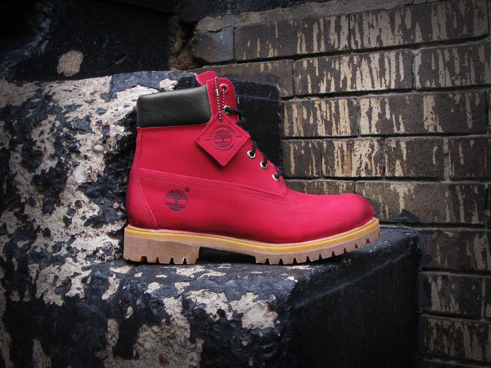 Villa x Timberland JTM 6 inch Boot Red Gum Limited Men Size 6 15   eBay