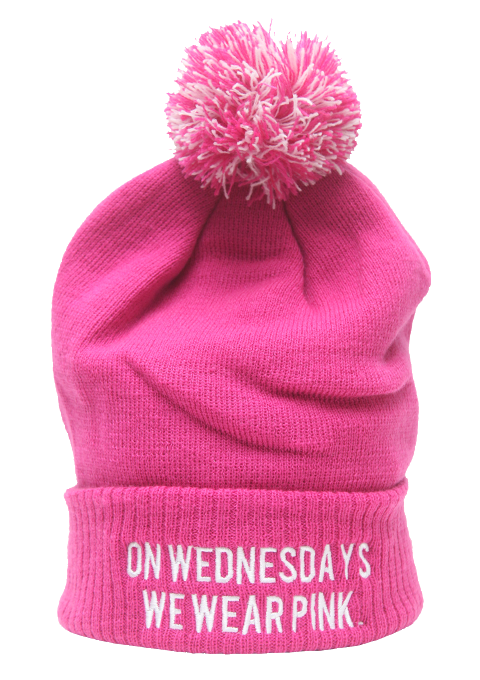 On Wednesdays We Wear Pink Beanie Hat £8.99   Free UK Delivery   10% OFF