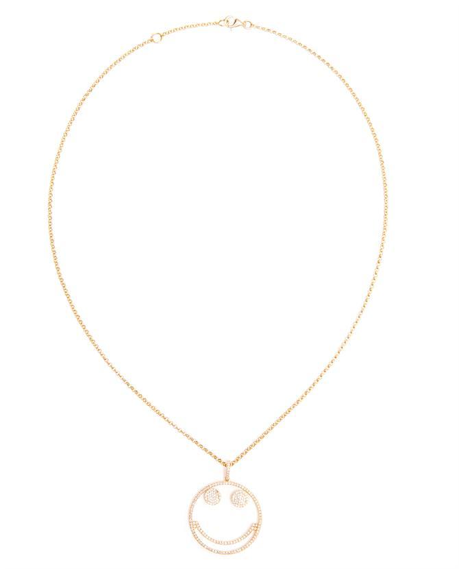 ROSA DE LA CRUZ   18-karat Gold 'Smile' Necklace   Browns fashion & designer clothes & clothing