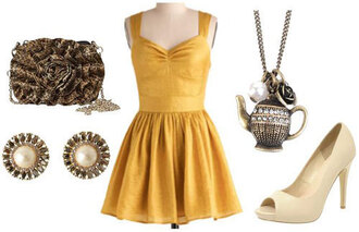 dress yellow belle beauty and the beast