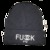 Fuck you Beanie BLK BURGUNDY AND WHITE Hat various colours / Fashionique