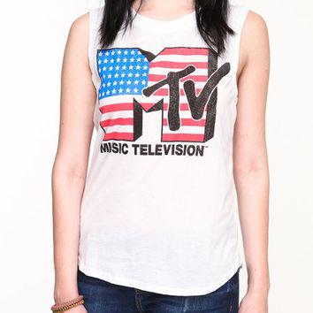 AMERICANA MTV TEE on Wanelo
