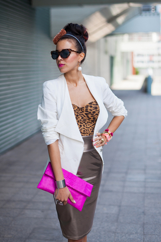 shoes jewels sunglasses jacket skirt bag macademian girl