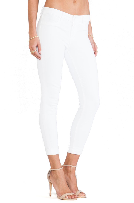 J Brand Anja Crop in Blanc   REVOLVE
