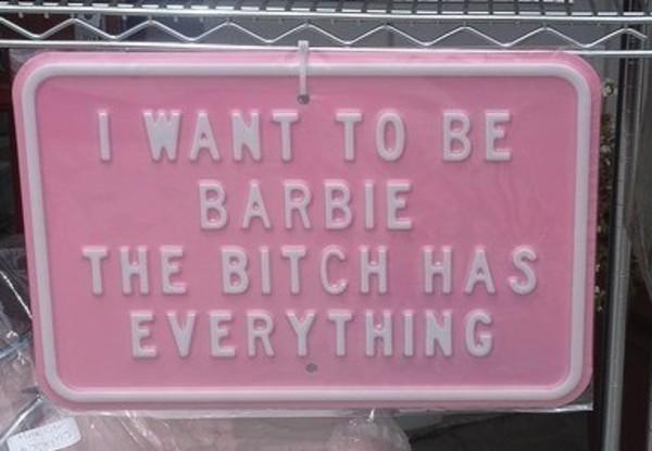 jewels barbie pink