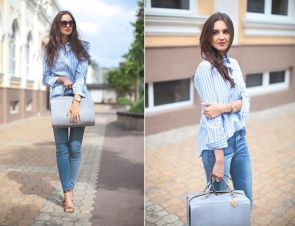 fashion agony shirt jeans shoes bag jewels sunglasses