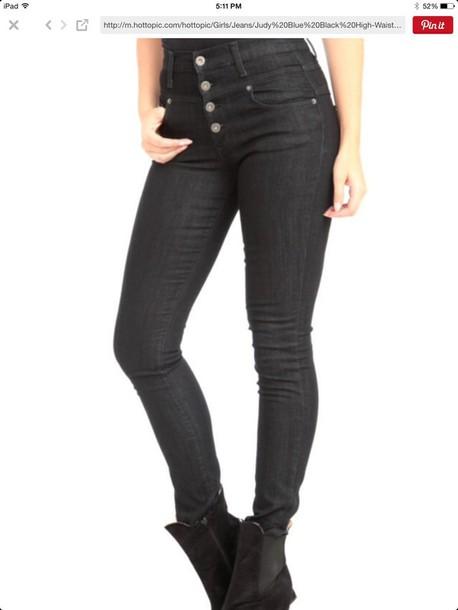 jeans waist high jeans