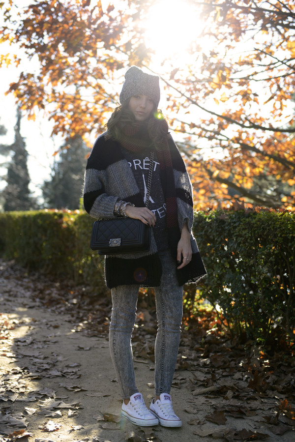 lovely pepa t-shirt jacket bag scarf jeans hat shoes jewels