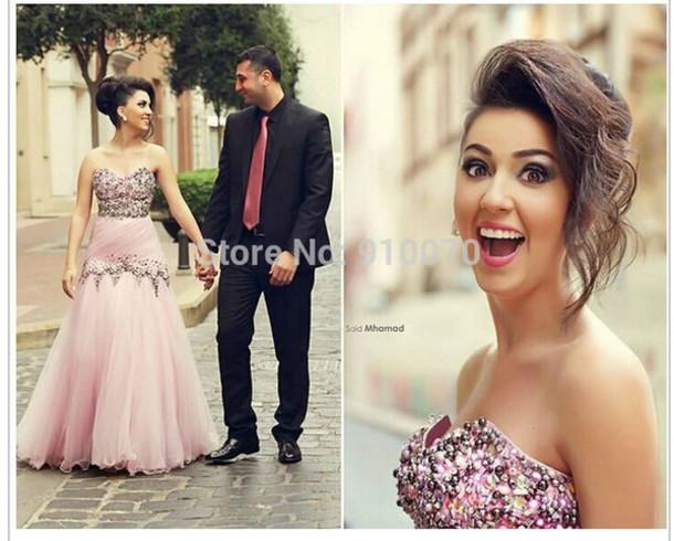 dress evening dress long evening dress prom dress crystals evening dress party dress prom