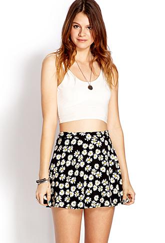 Daisy Doll Skater Skirt   FOREVER21 - 2000073555