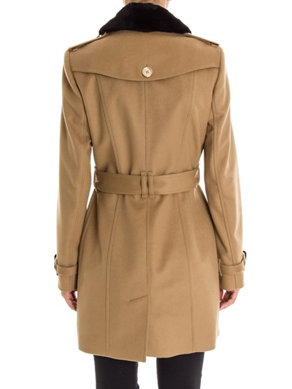 Burberry fur collar trench coat - 3891231 - theclutcher.com - Shop over the Brand