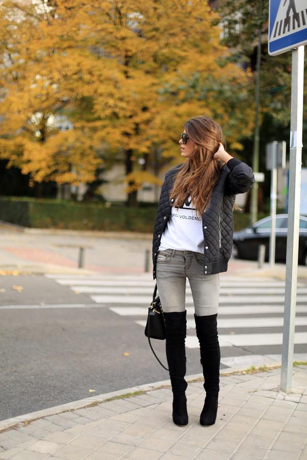seams for a desire t-shirt jeans shoes jewels sunglasses bag
