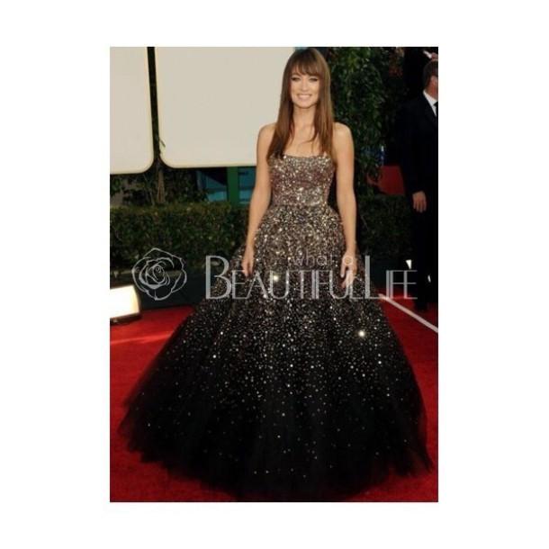 dress gown galaxy dress sparkly dress blue dress silver dress black dress gradient dress prom dress party dress style