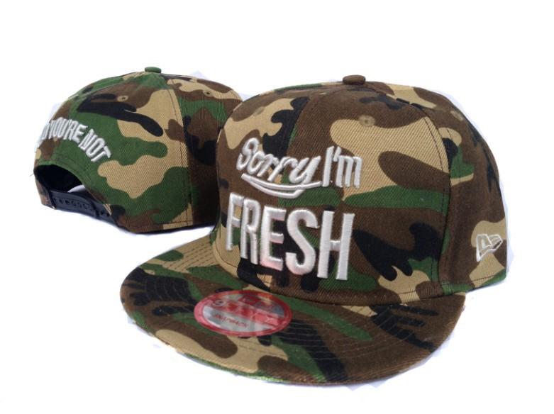 buy Sorry I'm Fresh Snapback Cap For Sale 009 Wholesale Price $14- discount Sorry I'm Fresh Snapbacks to worldwide,Free Shipping