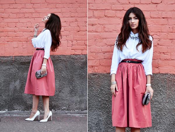 shirt midi skirt zara american eagle outfitters skirt
