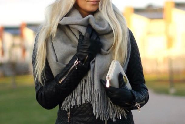scarf big scarf grey pretty