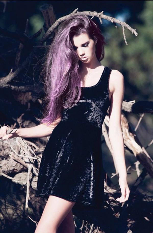 dress black dress grunge soft grunge