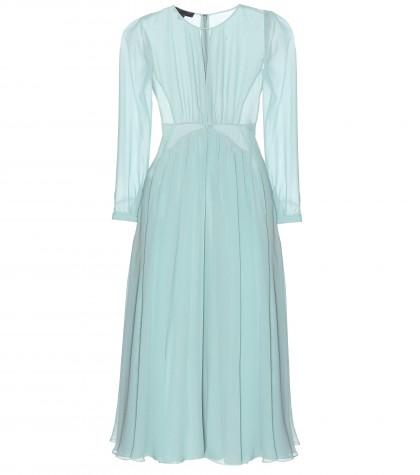 mytheresa.com -  Silk-chiffon dress  - Midi & long - Dresses - Clothing - Luxury Fashion for Women / Designer clothing, shoes, bags