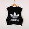 Classic back adidas swag style vest crop top tshirt fresh boss dope celebrity festival clothing fashion urban unique