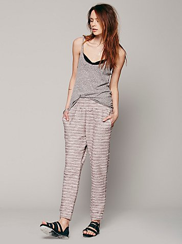 Otis & Maclain  Marbled Knit Slouch Pant at Free People Clothing Boutique