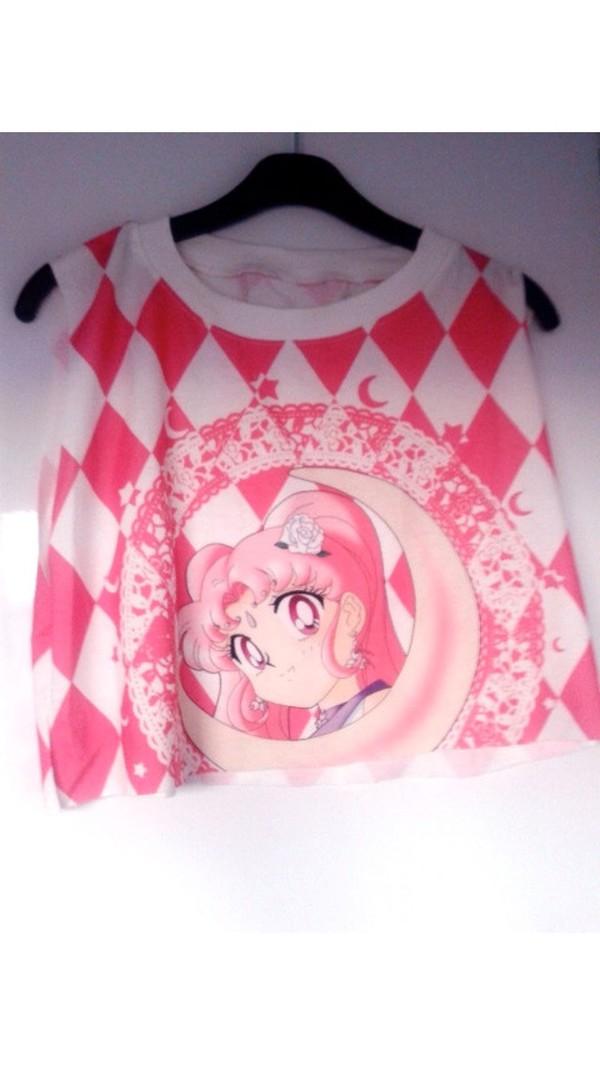 blouse sailor moon shirt anime