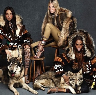 jacket dsquared2 winter outfits native outdoors wild new trendy winter 2015 trends fall outfits designer luxury fall winter autumn/winter natural model holiday season 2016 trends