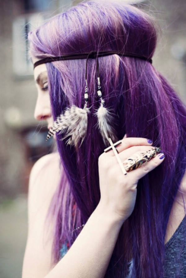 jewels jewelry rings ring rings and tings boho boho chic bohemian purple gold headband feathers feathers