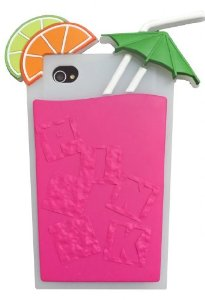 Amazon.com: Yuersal Rose Red Victoria's Secret cocktail Beverage cup Soft Silicone case For iPhone4 4s 4G: Cell Phones & Accessories