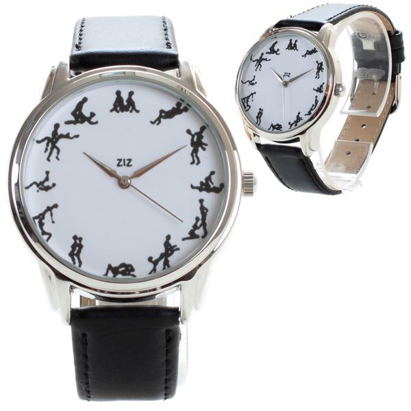 jewels watch watch kamasutra unusual watch unique watch leather watch kamasutra watch ziziztime ziz watch black n white